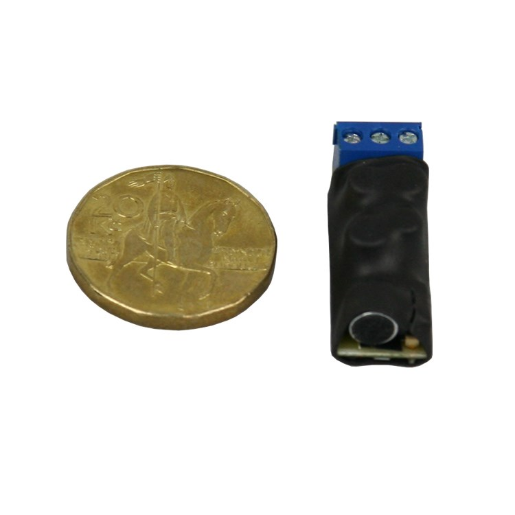 Audio modul pro kamery s mikrofonem a kompresor
