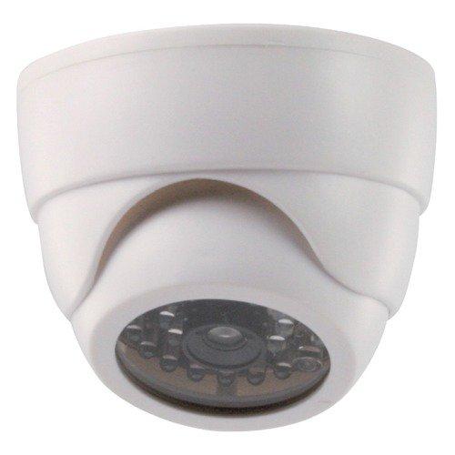 Atrapa vnitřní kopulovité kamery s IR blikající LED