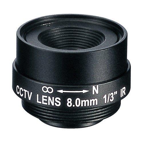EVETAR pevný Mpix objektiv 8 mm
