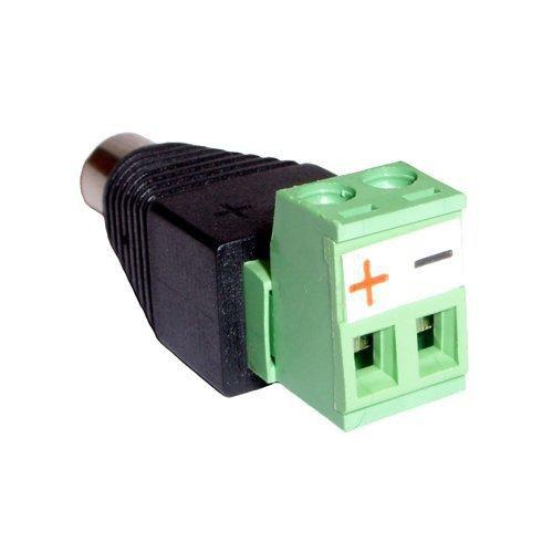 Napájecí konektor se svorkovnicí pro zdroj