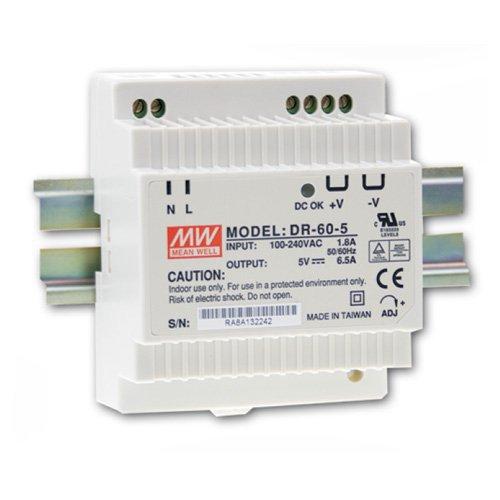 Stabilizovaný zdroj na DIN lištu DR-60-12,  12V / 4.5A