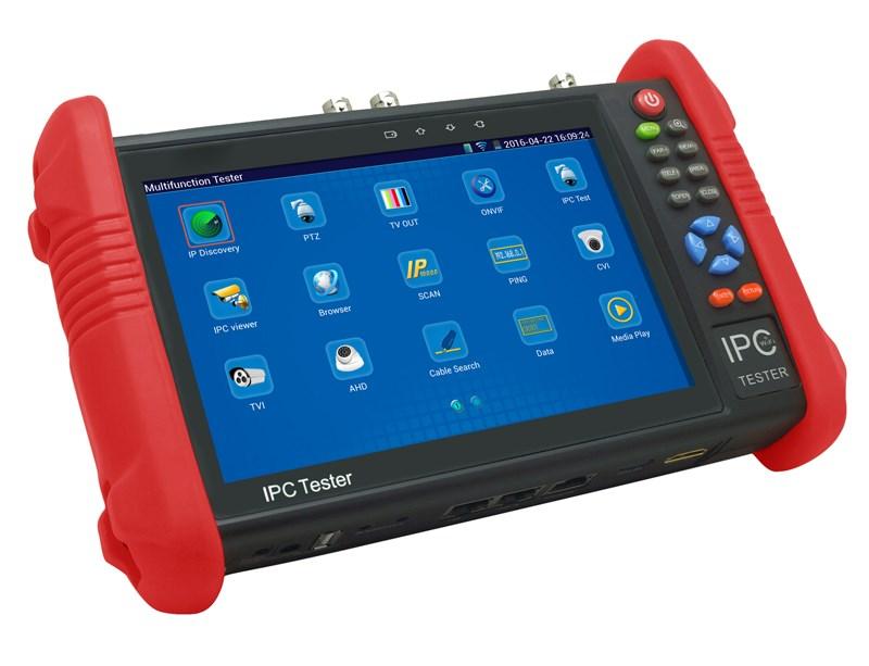 CCTV tester IPC-9800ADH+ pro IP, TVI, CVI, AHD a analogové kamery