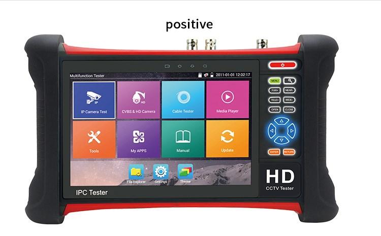 CCTV tester IPC-HX7-ADH pro IP, TVI, CVI, AHD a analogové kamery
