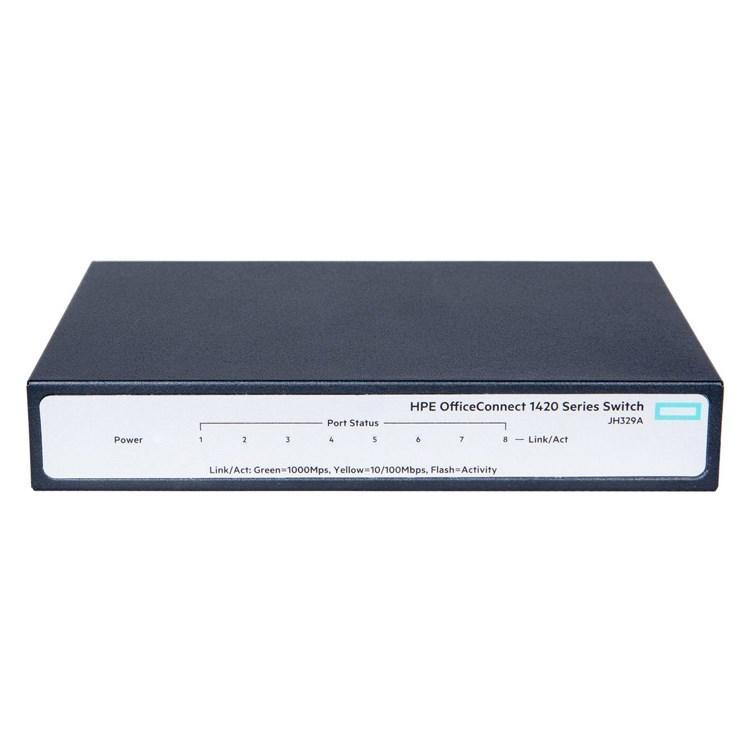 Switch HP 1420-8G  8x 10/100/1000Mbit