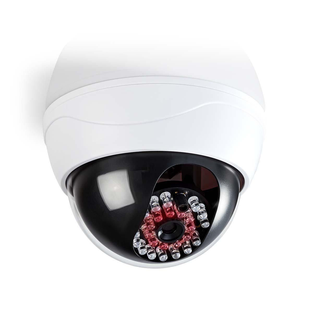 Atrapa venkovní kopulovité kamery s infračervenou LED