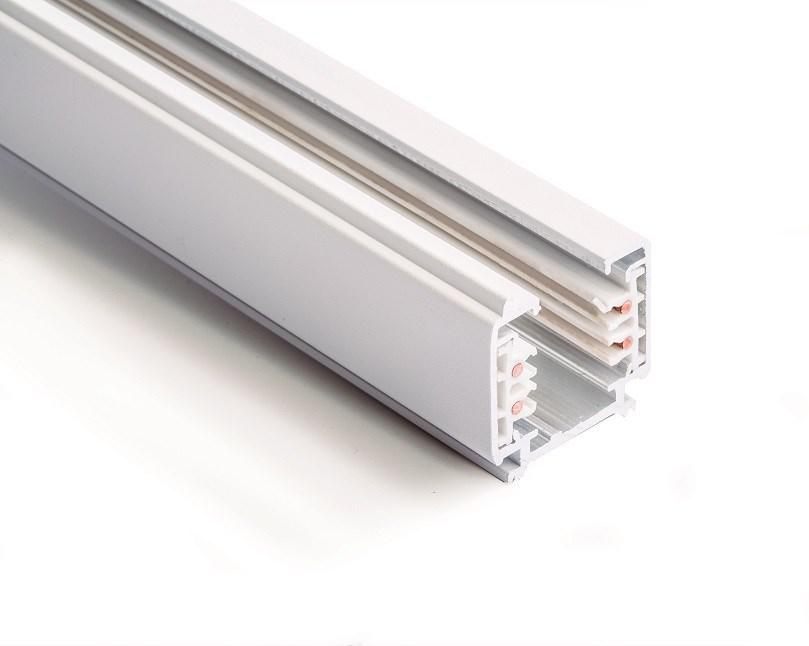 THREELINE ACRBL Třífázová lišta pro trackové osvětlení, dva metry, bílá